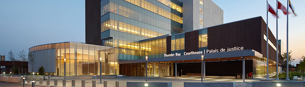 Thunder Bay Courthouse Exterior