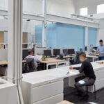 Open offices present interesting challenges for room acoustics